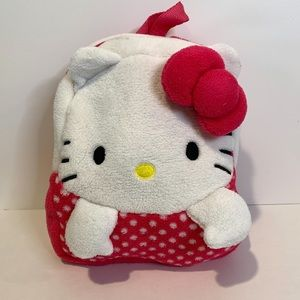 Hello Kitty Plush Toddler Backpack